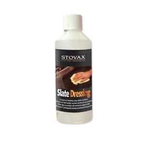Stovax Slate Dressing Oil Polish Cleaner 500ml Protect Hearh Tile Stove Floor