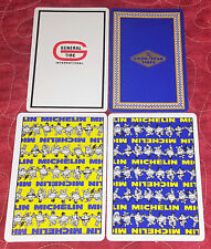 4 Vintage GoodYear General Michelin Tire Advertising SINGLE Swap Playing Cards
