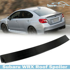 Carbon for Subaru WRX STI Saloon Sedan D Look Rear Roof Spoiler 2017
