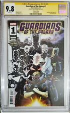 Guardians of the Galaxy #1 CGC 9.8 SS Signed by David Marquez Premiere Var 2019