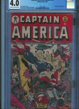 CGC 4.0 CAPTAIN AMERICA #53 SCHOMBURG COVER TIMELY 1946 BUCKY & TORCH  CR/OW PGS