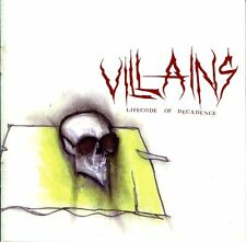 VILLAINS Lifecode Of Decadence POISON HELLHAMMER G.B.H.