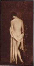 1920s Vintage Irish Female Nude Model Hoppe Art Deco Photo Gravure Print