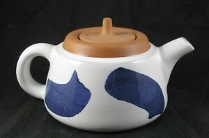 Eshelman Glazed Red Stoneware Teapot 1991