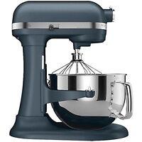 New KitchenAid KP26M1XBS PRO 600 Stand Mixer 6 qt Big Super Large Blue Steel
