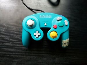Nintendo Gamecube Controller Official DOL-003 OEM (Emerald Blue)