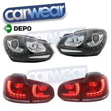 Volkswagen Black Clear Headlights