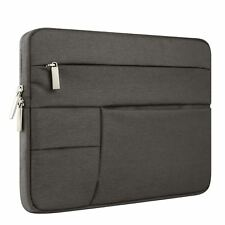 "13.3"" Charcoal Black Laptop Macbook Case Sleeve Shell Pockets Chromebook"