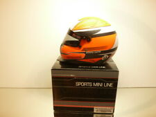 SPORTS MINI LINE HELMET 2009 - GERMAN DRIVER M. BRONZEL - 1:2 - EXCELLENT IN BOX