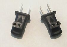 TWO Adapter Plugs For Body Bare Rechargeable Shaver, & Other Compatible Shavers