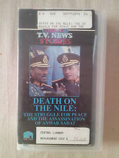 Death on the Nile: The Assassination of Anwar Sadat VHS RARE VGC! AXL