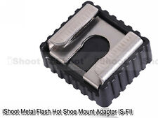 Metal Hot Shoe Mount Adapter for Umbrella Holder/Flash Bracket/Wireless Trigger