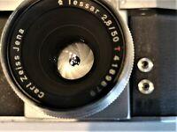 CARL ZEISS KW Rival MX Camera + lens CZ Tessar 2,8/50 Qallity sign!