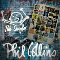 PHIL COLLINS - THE SINGLES / GREATEST HITS - DOUBLE CD *BRAND NEW*