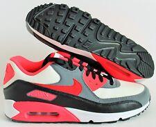 Nike Air Max 90 ID Solar Pink-Black-Gray-Stone  SZ 9.5  [653533-998]