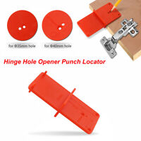 35mm 40mm Hole Drilling Guide Locator Opener Cabinet Woodworking Tool RulerRe