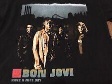 Bon Jovi Have A Nice Day 2005-06 North America Tour Small T Shirt