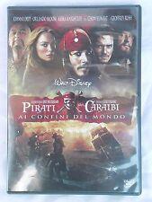 """""""PIRATI DEI CARAIBI AI CONFINI DEL MONDO"""" con Johnny Depp Film avventura DVD CD"""