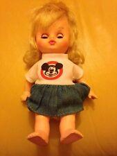 Vtg 1971 Adorable Horsman Doll Disney Mickey Mouse Club Girl Mouseketeer Doll