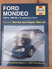 Haynes Manual Ford Mondeo 1993-1999 Petrol