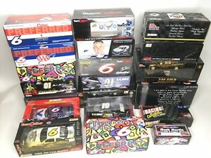 1/24 1:24 Nascar Racing Authentics Diecast NEW Lot of 20 Cars Collection