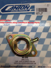 CANTON CHEVY SBC ENGINE STEEL FILLER WATER NECK BOLT-ON INTAKE CAP TYPE #08-090