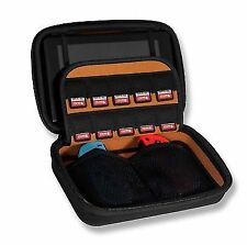 Gamers Gear Nintendo Switch Black Carry Case for Console Plus Controllers and GA