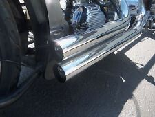 """HARLEY BIG TWIN & SPORSTER EXCAUST PIPES 1 1/2 """" BAFFLE SOLD EACH 4"""" LONG"""