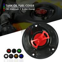 Motor CNC Keyless Tank Fuel Gas Caps Cover FOR honda CBR1000RR ABS 2008-2013