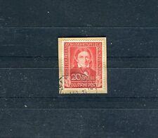 BRD Mi.-Nr. 119 gestempelt auf Briefstück Friedrich Fröbel Pädagoge - b1857