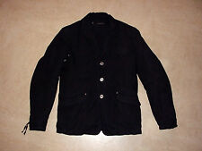 DSQUARED men's black jacket D2 DSQUARED2 52 L coat jacke made in Italy rare