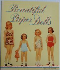 Beautiful Paper Dolls Book by Betty Campbell