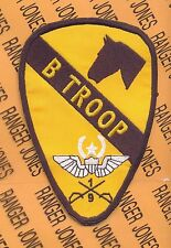 B Troop 1/9 AIR CAV 1st Cavalry Division Master Aviation patch