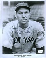 BILL DICKEY SIGNED JSA CERTED 8X10 PHOTO AUTHENTIC AUTOGRAPH