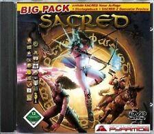 Sacred-Big Pack-DVD-ROM ** WinXP ** nuova di zecca ** OVP