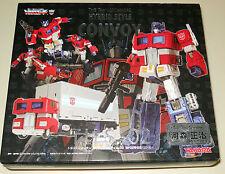 Transformers Optimus Prime Convoy G1 Takara THS-02 Hybrid Style Figure Trailer
