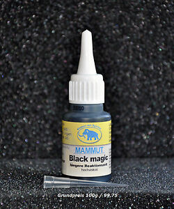 Mammut Black Magic Sekundenkleber 20g (100g / 124,75 €  Einweg Behälter )