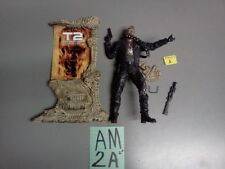 McFarlane Movie Maniacs Terminater 2 T-800 Arnold Figure #A Loose FREE SHIP US