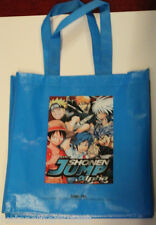 SDCC Promo Book Tote Bag Manga Shonen Jump Alpha Blue Vinyl Anime Weekly new