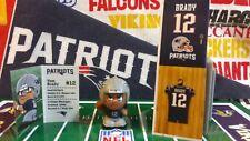 NFL Teenymates 2017 Series 6 New England Patriots QB Tom Brady Figure & Locker