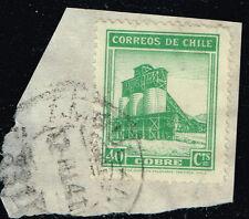 CHILE STAMP RPO RAILWAY CANCELLATION AMBULANCIA # 31
