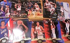 SCOTTIE PIPPEN RESALE LOT (50) TOTAL CARDS 10 DIFFERENT 96 UD USA 13-94 PINNACLE