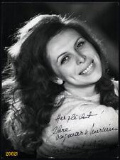 Dagmar von Kurmin, actress w amazing hair by INKEY 1970 signed