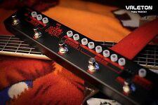 Valeton Dapper Dark Guitar Effects Strip Tuner Boost Higain Chorus Delay Loop