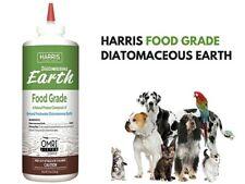 Harris Diatomaceous Earth Food Grade 0.5 lb puffer Flea Ticks Ants Stink Bed Bug