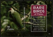 PALAU  2016 RARE BIRDS OF PALAU SOUVENIR SHEET  MINT  NH