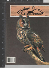 Waterfowl Carving & Collecting  Magazine Winter 94 (V9 # 4 ) Cathy Hart editor