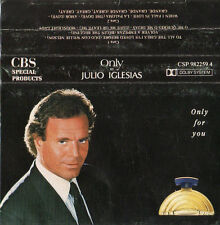 """JULIO IGLESIAS """"ONLY FOR YOU"""" ULTRA RARE SPANISH PROMOTIONAL CASSETTE"""