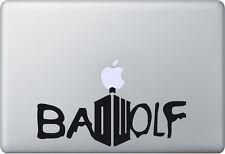 Apple MacBook Air Pro + Bad Wolf + Aufkleber Sticker Decal + Doctor Who Tardis