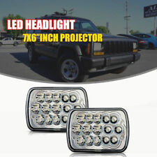 CREE LED Sealed Beam Headlight For International 4700 4900 1978-1986 Ford F150